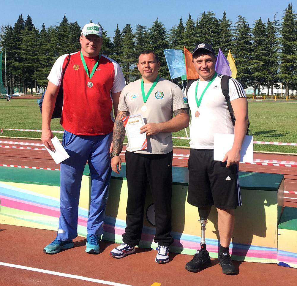 28-30 апреля Всероссийские соревнования по легкой атлетике среди лиц ПОДА