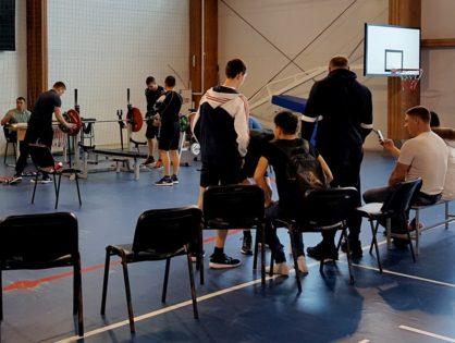 Турнир по жиму лёжа среди занимающихся, посещающих тренажерные залы МАУ ФОК «Олимп»