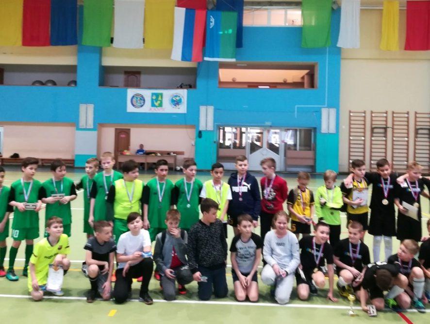 Турнир по мини-футболу среди юношей 2007-2008 гг.р., посвящённый Дню защитника Отечества.