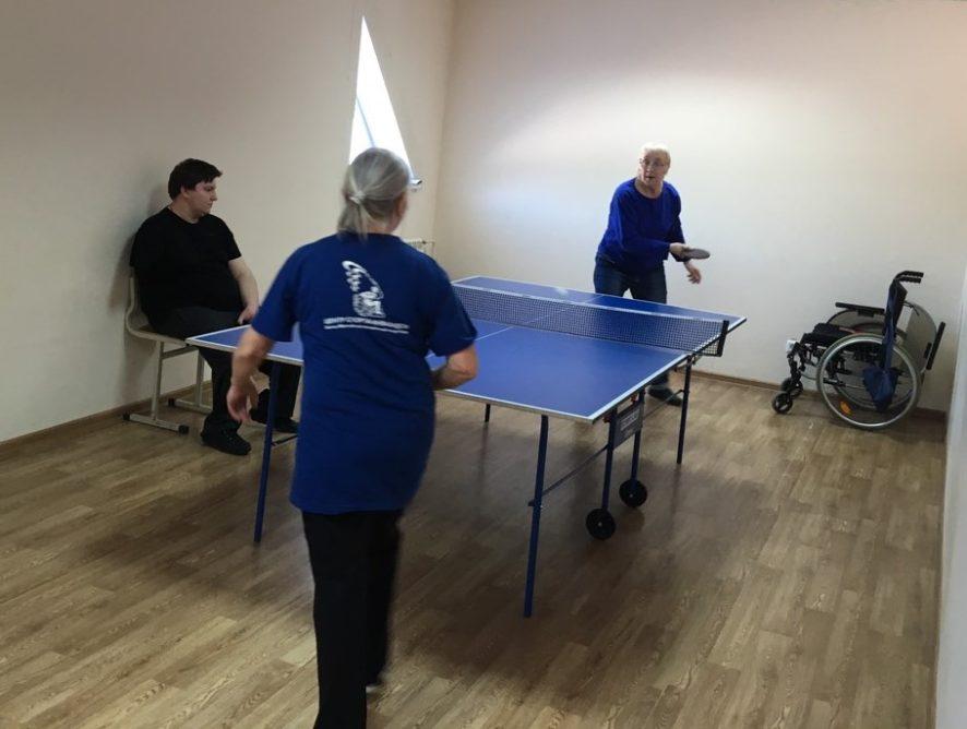 5 апреля в Ледовом дворце МАУ ФОК «Олимп» прошёл Турнир по настольному теннису среди лиц с ограниченными возможностями здоровья, посвящённый Международному Дню спорта.