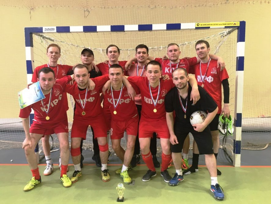 12 мая в спортивном зале МАУ ФОК «Олимп» прошёл Турнир по мини-футболу, среди мужских команд.