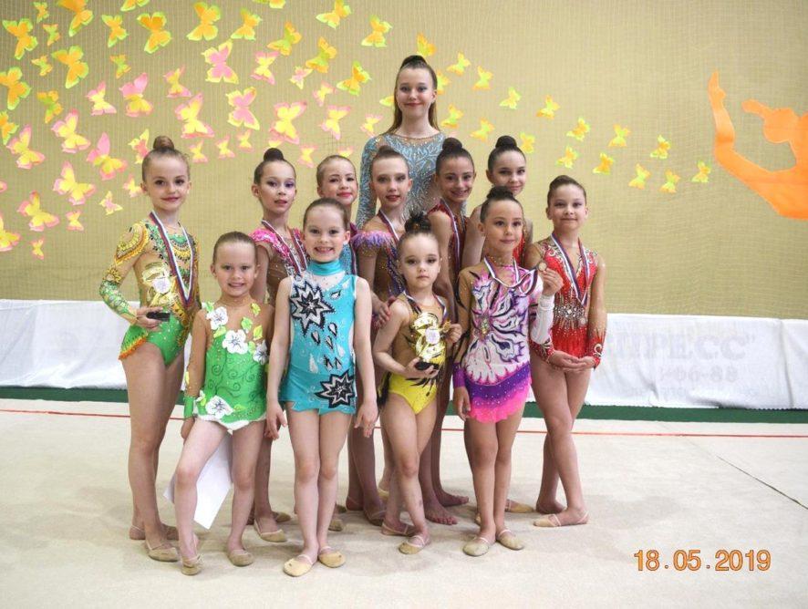 8 мая 2019 года на базе МАУ ФОК «Олимп» прошло Открытое Первенство Советского района по художественной гимнастике «Весенняя грация»