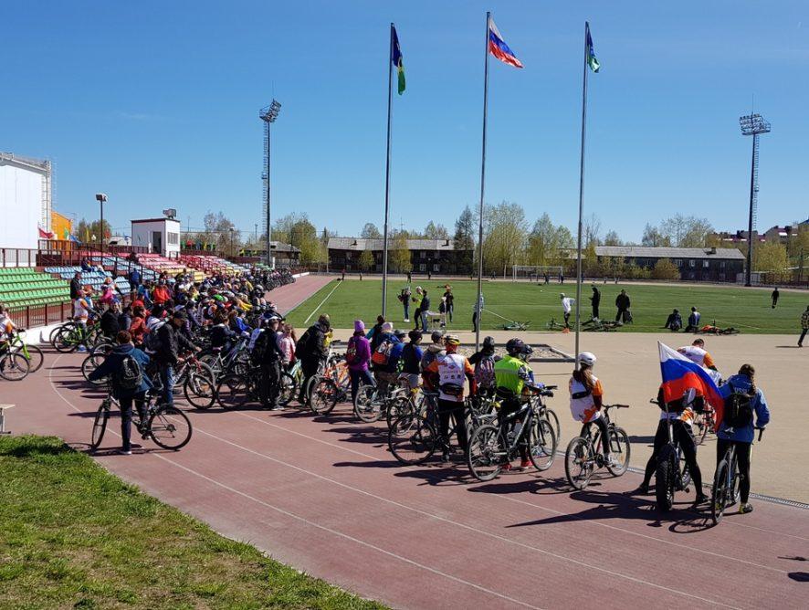26 мая прошёл Велопробег «Советский–Югорск–Советский 2019»