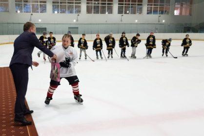 Открытый Турнир по хоккею с шайбой, среди детей 2009-2011 гг.р