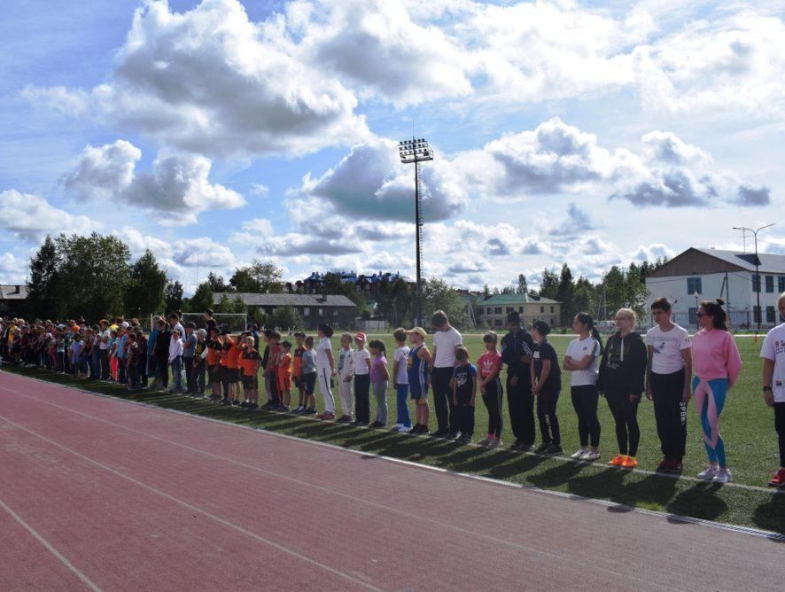 Спортивный праздник «День физкультурника» состоялся 10 августа 2019 г. на стадионе «Юбилейный».
