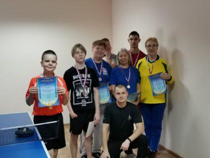 7 декабря в Ледовом дворце г.Советский прошёл турнир по настольному теннису