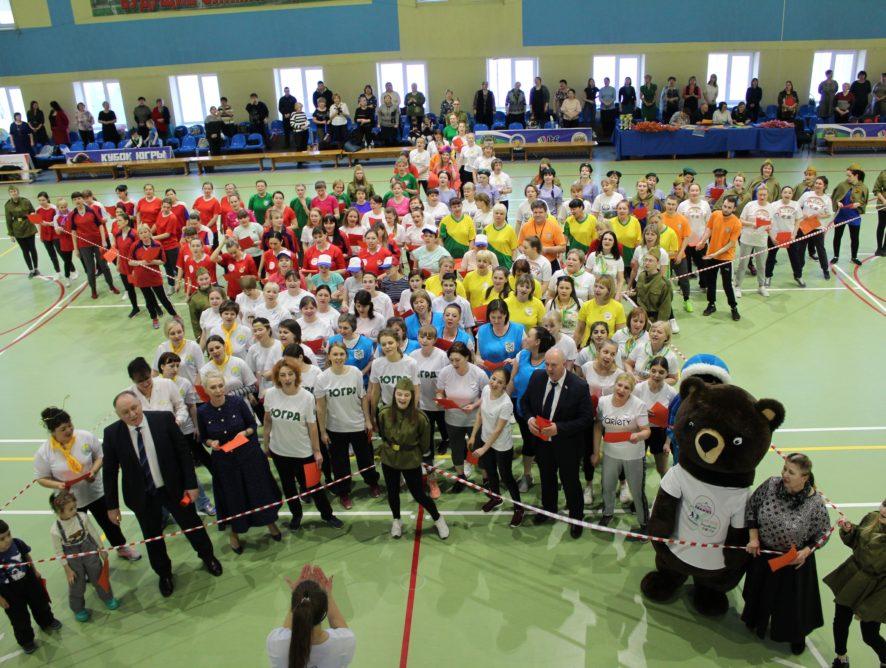 4 марта в спортивном зале МАУ ФОК «Олимп» прошли весёлые старты, посвящённые Международному женскому Дню 8-е марта