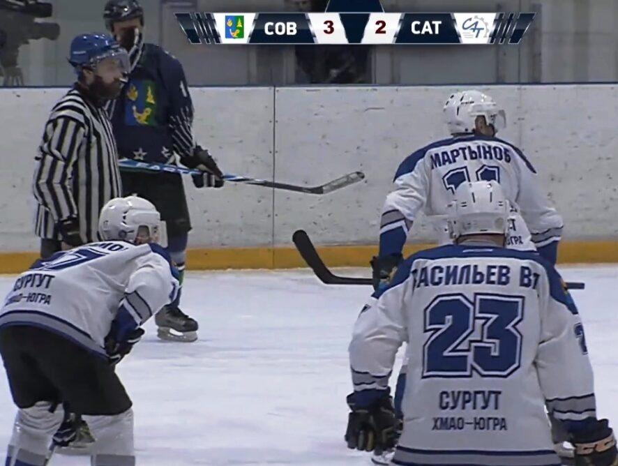 Последние домашние игры ночной хоккейной лиги сезона 2020-2021.