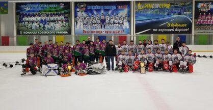 «Советские медведи» стали серебряными призёрами регионального Первенства по хоккею.